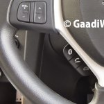 2015 Maruti Swift facelift ZDi steering controls