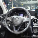 2015 Mercedes C Class steering wheel at the 2014 Paris Motor Show.