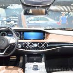 2015 Mercedes S500 Plug-in Hybrid dashboard at the 2014 Paris Motor Show