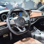 2015 Mercedes S500 Plug-in Hybrid interior at the 2014 Paris Motor Show