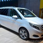 2015 Mercedes V Class at the 2014 Paris Motor Show