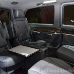 2015 Mercedes V Class cabin at the 2014 Paris Motor Show