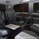 2015 Mercedes V Class cabin at the 2014 Paris Motor Show
