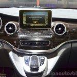 2015 Mercedes V Class centre console  at the 2014 Paris Motor Show