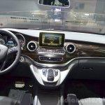 2015 Mercedes V Class dashboard at the 2014 Paris Motor Show