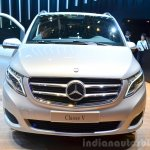 2015 Mercedes V Class front at the 2014 Paris Motor Show