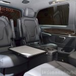 2015 Mercedes V Class interior at the 2014 Paris Motor Show