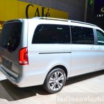2015 Mercedes V Class rear three quarter at the 2014 Paris Motor Show