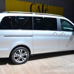 2015 Mercedes V Class side at the 2014 Paris Motor Show