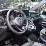 2015 Mercedes V Class steering at the 2014 Paris Motor Show