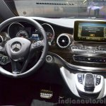 2015 Mercedes V Class steering wheel at the 2014 Paris Motor Show