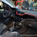 2015 Opel Corsa 3-door dashboard at the 2014 Paris Motor Show