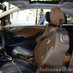 2015 Opel Corsa 3-door front seats at the 2014 Paris Motor Show