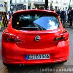 2015 Opel Corsa 3-door rear at the 2014 Paris Motor Show