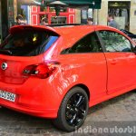 2015 Opel Corsa 3-door rear three quarter at the 2014 Paris Motor Show
