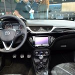 2015 Opel Corsa 5-door dashboard at the Paris Motor Show 2014