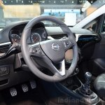2015 Opel Corsa 5-door interior at the Paris Motor Show 2014