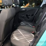 2015 Opel Corsa 5-door rear seat at the Paris Motor Show 2014