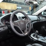 2015 Opel Insignia 2.0-litre CDTI dashboard at the 2014 Paris Motor Show