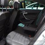 2015 Opel Insignia 2.0-litre CDTI rear seat at the 2014 Paris Motor Show