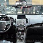 2015 Opel Zafira Tourer 2.0-litre CDTI interior at the 2014 Paris Motor Show