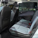 2015 Opel Zafira Tourer 2.0-litre CDTI rear seats at the 2014 Paris Motor Show