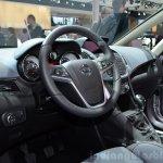 2015 Opel Zafira Tourer dashboard 2.0-litre CDTI at the 2014 Paris Motor Show