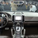 2015 Porsche Cayenne S E-Hybrid dashboard at the Paris Motor Show 2014