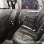 2015 Porsche Cayenne S E-Hybrid rear seat at the Paris Motor Show 2014