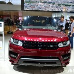 2015 Range Rover Sport front at the 2014 Paris Motor Show