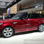 2015 Range Rover Sport side at the 2014 Paris Motor Show