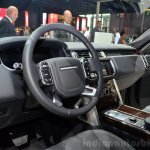 2015 Range Rover dashbaord at the 2014 Paris Motor Show