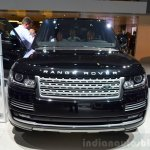 2015 Range Rover front at the 2014 Paris Motor Show