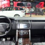 2015 Range Rover interior at the 2014 Paris Motor Show