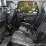 2015 Range Rover rear seats at the 2014 Paris Motor Show