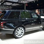 2015 Range Rover rear three quarter at the 2014 Paris Motor Show