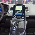 2015 Renault Espace centre console at the 2014 Paris Motor Show