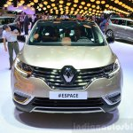 2015 Renault Espace front at the 2014 Paris Motor Show