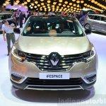 2015 Renault Espace front at the 2014 Paris Motor Show