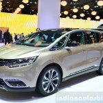 2015 Renault Espace front three quarter at the 2014 Paris Motor Show