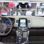 2015 Renault Espace interior at the 2014 Paris Motor Show