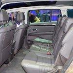 2015 Renault Espace rear seat at the 2014 Paris Motor Show