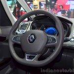 2015 Renault Espace steering wheel at the 2014 Paris Motor Show