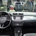 2015 Skoda Fabia Combi dashboard at the 2014 Paris Motor Show