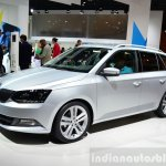 2015 Skoda Fabia Combi front three quarters at the 2014 Paris Motor Show