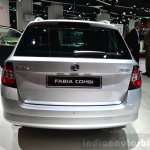 2015 Skoda Fabia Combi rear at the 2014 Paris Motor Show