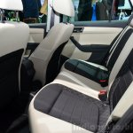 2015 Skoda Fabia Combi rear seat at the 2014 Paris Motor Show