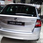 2015 Skoda Fabia Combi tailgate at the 2014 Paris Motor Show