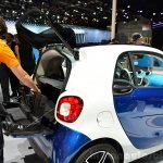 2015 Smart ForFour boot at 2014 Paris Motor Show