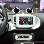 2015 Smart ForFour centre console at 2014 Paris Motor Show
